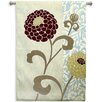 <strong>Fine Art Tapestries</strong> Abstract Chrysanthemums III by Carter Tapestry
