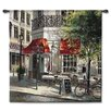 <strong>Fine Art Tapestries</strong> Classical Corner Café by Brent Heighton Tapestry