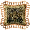 <strong>Fine Art Tapestries</strong> Tree of Life Midnight Blue Pillow
