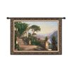 <strong>Fine Art Tapestries</strong> Classical Lodge at Lake Como-Large by Aagaard Tapestry
