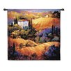 Fine Art Tapestries Cityscape, Landscape, Seascape Evening Glow by Nancy O'Toole Tapestry