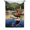 <strong>Fine Art Tapestries</strong> Classical Harbor at Last Light by Ramon Pujol Tapestry
