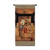 Fine Art Tapestries Abstract Bamboo Inspiration II by McCoy Tapestry