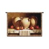 <strong>Classical Urns with Pomegranates Small by Loran Speck Tapestry</strong> by Fine Art Tapestries
