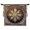 Fine Art Tapestries Classical Leopard with Rosette by Acorn Studios Tapestry