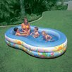 "Intex 18"" Deep Swim Center Paradise Pool"