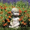 <strong>OrlandiStatuary</strong> Children Baby by Ann Copper Outdoor Statue