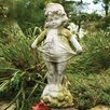 OrlandiStatuary Children Little Sister Outdoor Statue