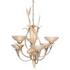 Van Teal Almost Autumn Expectation 6 Light Chandelier