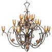 Van Teal Feelings Double Passion 18 Light Chandelier