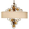 Van Teal Free Wheeling Wheels Of Flare 6 Light Chandelier