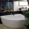 "Aquatica Idea 59"" H x 25.25"" W Freestanding Acrylic Bathtub"