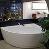 """Aquatica Idea 59"""" H x 25.25"""" W Freestanding Acrylic Bathtub"""