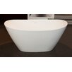 "Aquatica PureScape 64"" x 33.5"" Freestanding Bathtub"