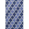 Noble House Cologne Blue Area Rug