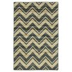 <strong>Canvas Blue Lascale Chevron Stripe Rug</strong> by Mohawk Home