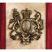<strong>Design Toscano</strong> Royal Coat of Arms of Great Britain Wall Sculpture