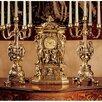 Design Toscano Chateau Chambord Clock and Candelabra Set