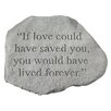 <strong>Design Toscano</strong> If Love Could Have Saved You...Memorial Garden Marker Stepping Stone