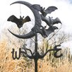 <strong>Design Toscano</strong> Moon and Bats Crescent Vampire Garden Stake Weathervane