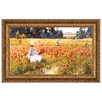 Design Toscano In Flanders Field Where Soldiers Sleep and Poppies Grow, 1890 Framed Original Painting