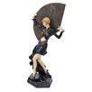 Design Toscano Flapper Follies Fan Dancer Figurine