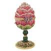 Design Toscano A Garden Rose Treasure Faberge Style Enameled Egg Decorative Jar