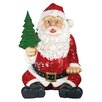 Design Toscano Giant Sitting Santa Claus Statue with Hand Seat