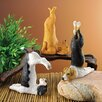 Design Toscano 3 Piece The Zen of Canine Yoga Dog Statue Set (Set of 3)