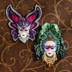 <strong>Design Toscano</strong> 2 Piece Maidens of Mardi Gras Sculpture Wall Décor Set