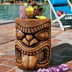 Design Toscano The Grand Tiki Tongue Sculptural Side Table