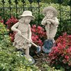 Design Toscano Young Gardeners Statue