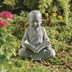 <strong>Design Toscano</strong> Baby Buddha Studying The Five Precepts Statue