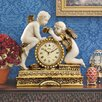 Design Toscano Chateau Carbonne Cherub Mantle Clock