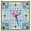 <strong>Design Toscano</strong> Dragonfly Pond Stained Glass Window