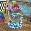 <strong>Design Toscano</strong> Dolphin Cove Side Table