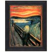 <strong>Design Toscano</strong> The Scream, 1893, by Edvard Munch Framed Painting Print