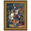 <strong>Design Toscano</strong> Bouquet of Flowers in an Urn, 1724 by Jan van Huysum Framed Painting Print