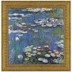 <strong>Design Toscano</strong> Waterlillies, 1914 by Claude Monet Framed Painting Print