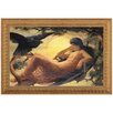 <strong>Design Toscano</strong> The Night Raven Sings by John Scott Framed Painting Print