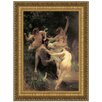 <strong>Design Toscano</strong> Nymphs and Satyr, 1873by William-Adolphe Bouguereau Framed Painting Print
