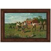 <strong>Design Toscano</strong> Snap the Whip, 1872 by Winslow Homer Framed Painting Print
