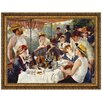 <strong>Design Toscano</strong> Luncheon of the Boating Party, 1881 by Pierre-Auguste Renoir Framed Painting Print