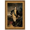 <strong>Design Toscano</strong> George Washington at the Battle of Princeton, 1781 by Charles Willson Peale Framed Painting Print