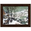 <strong>Design Toscano</strong> The Hunters in the Snow, 1565 by Pieter Brueghel the Elder Framed Painting Print