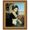 <strong>Design Toscano</strong> Woman of the Orient, 1840 by Charles Gleyre Framed Painting Print