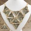 Design Toscano Egyptian Weave Necklace and Earring