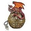 Design Toscano Shield of the Celtic Orb Dragon Statue