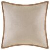 <strong>Linen with Jute Trim Square Pillow</strong> by Madison Park