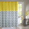 Madison Park Intelligent Design Nadia Microfiber Printed Shower Curtain